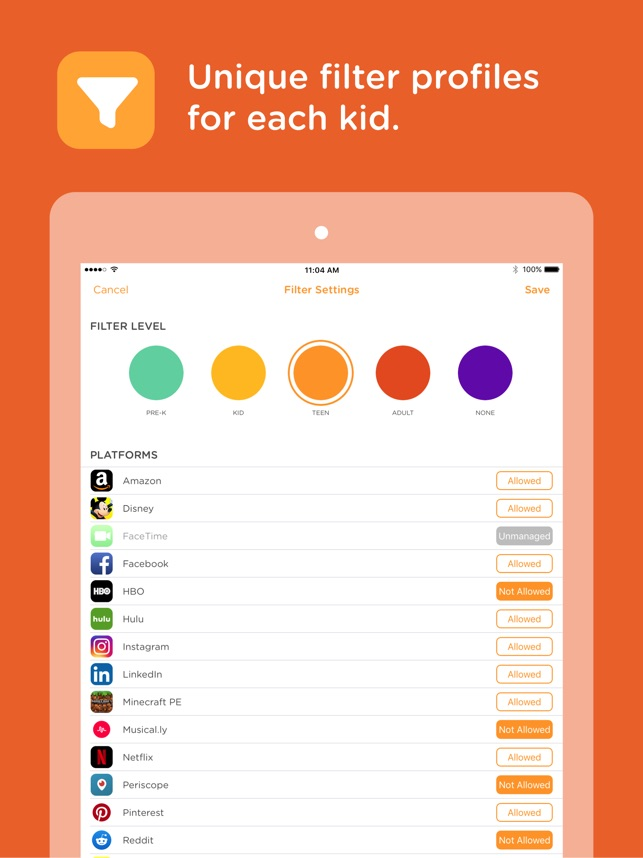 Circle 1st generation on the App Store