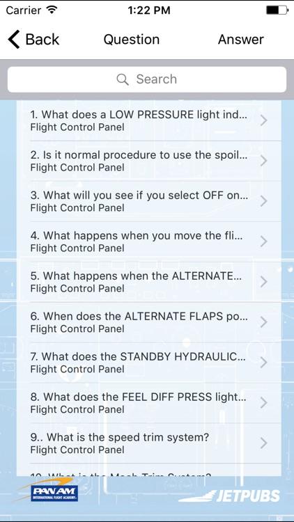 Pan Am 737-300 Study App screenshot-4