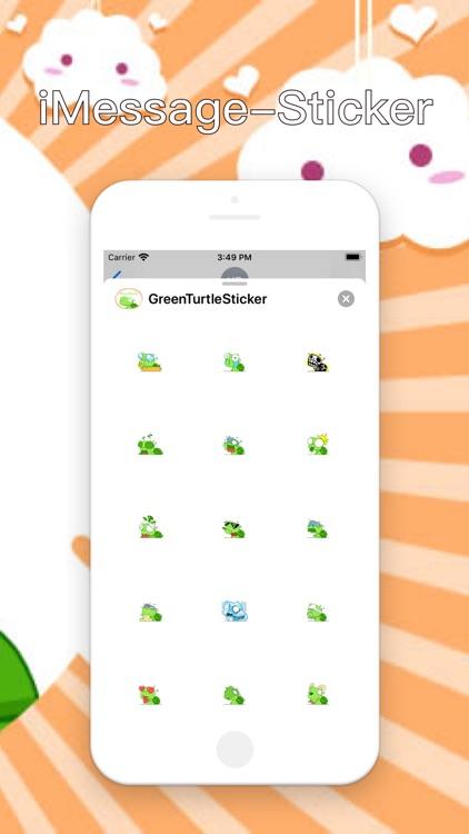 GreenTurtle-Sticker