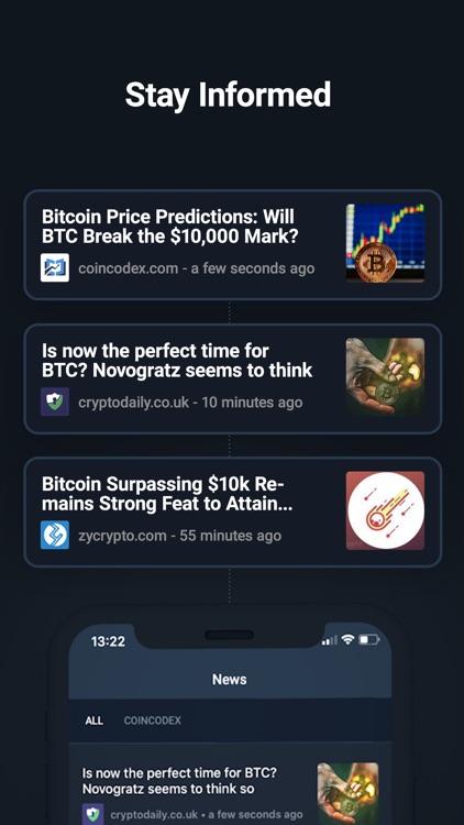 CoinCodex - Crypto Tracker screenshot-4