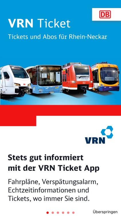 Vrn Ticket By Deutsche Bahn
