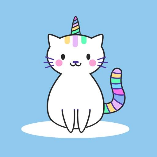 Unicat Pride Stickers