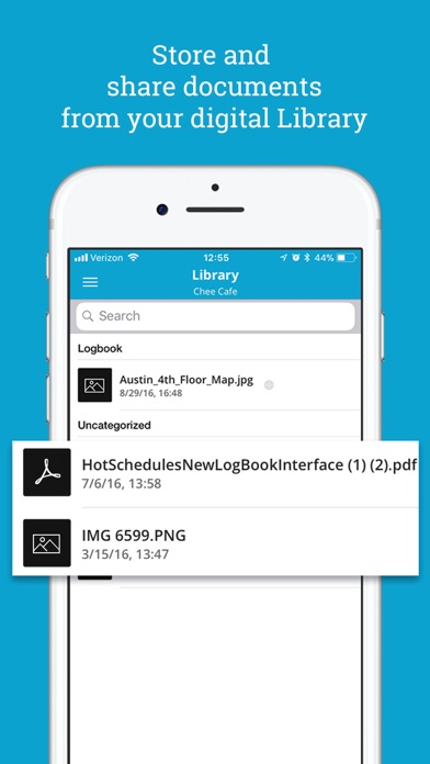 Screenshot for HotSchedules Logbook in United States App Store