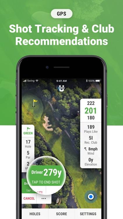 Golf GPS & Scorecard by SwingU screenshot-3