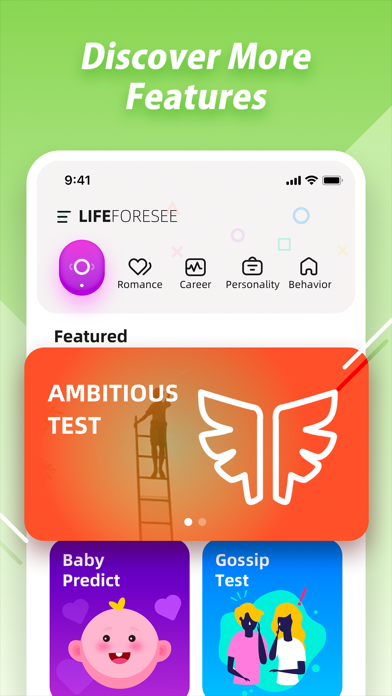 Life Foresee - Palm Scan&Test Screenshot
