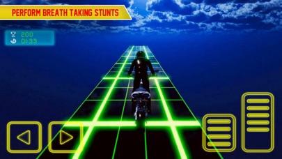 Screenshot #3 pour Crazy Bike In Light Tracks