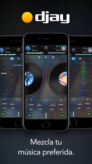 Screenshot for djay - DJ App & Mixer in Chile App Store