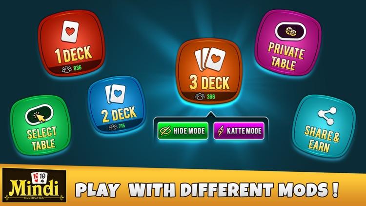 Mindi Multiplayer - Card Game