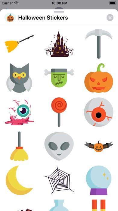 Happy Halloween Best Stickers app image