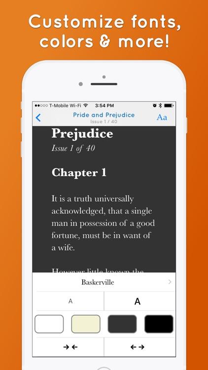 Serial Reader - Classic Books screenshot-4