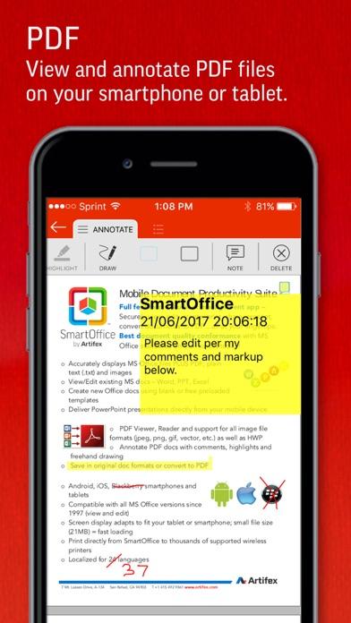 SmartOffice for BlackBerry   App Price Drops