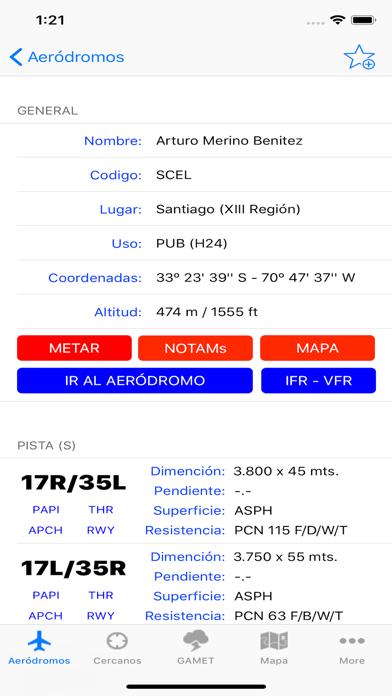 Aerodromos ChileCaptura de pantalla de2