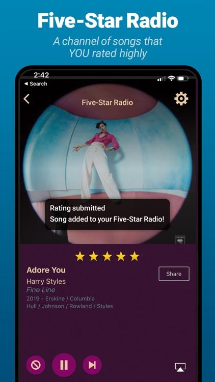 AccuRadio: Curated Music Radio screenshot-4