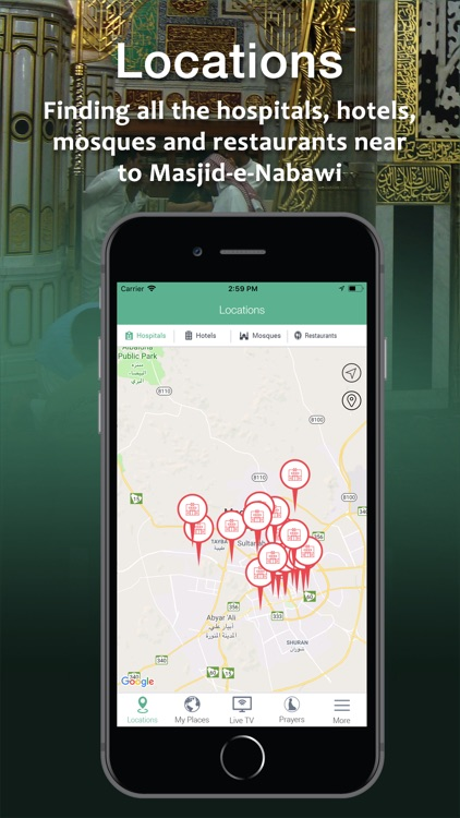 Madina Traveller Map Pro screenshot-0