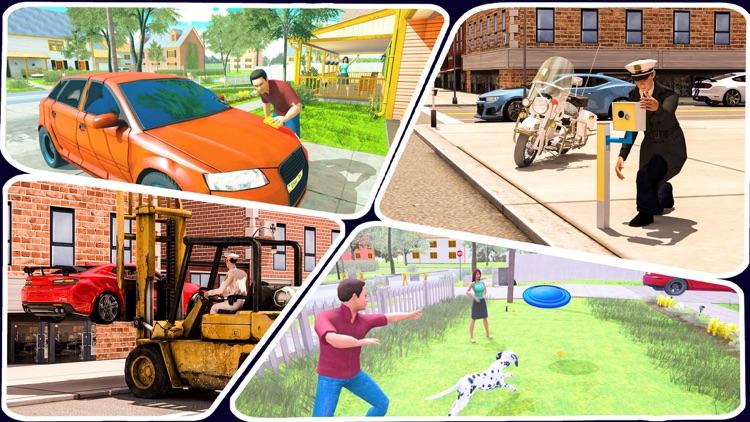 Happy Virtual Family Simulator screenshot-9