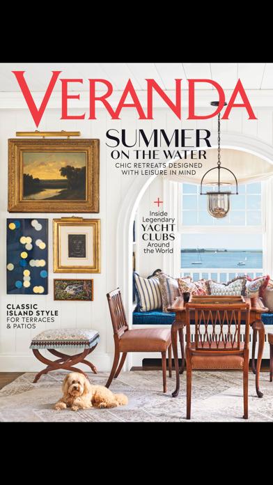 Veranda Magazine US Screenshot