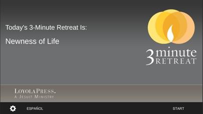 3-Minute Retreat screenshot one
