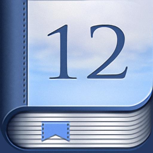 12 Steps Companion AA Big Book icon