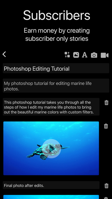 Portfolio Website Builder screenshot