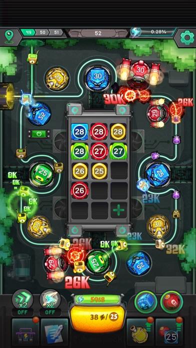 Cybershock : TD Idle & Merge screenshot 4