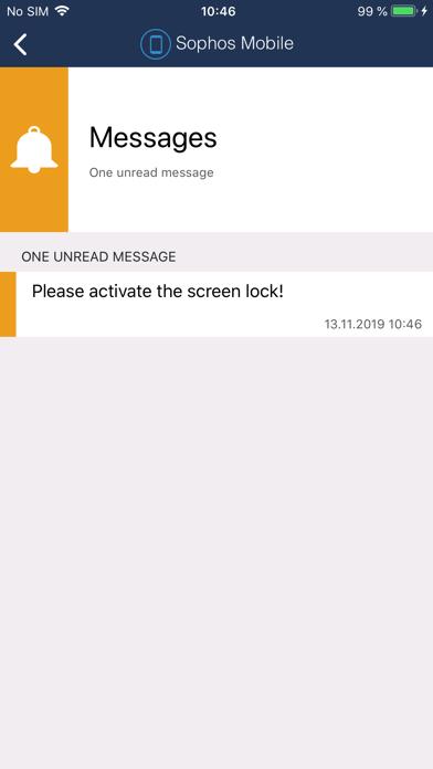 Sophos Mobile Controlのスクリーンショット4