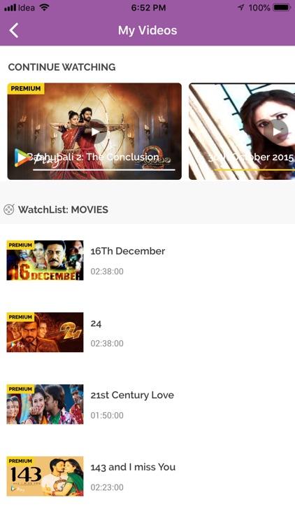 Idea Movies & TV screenshot-5