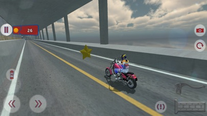 Fast Motorcycle Driver Extremeのおすすめ画像2