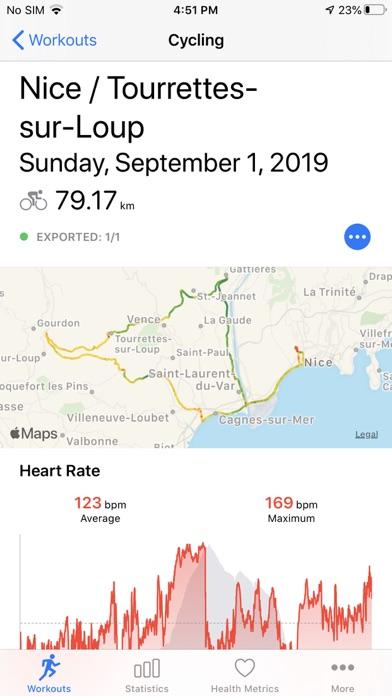 Screenshot #2 pour HealthFit