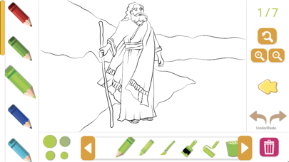 Biblia Coloring Story Book screenshot 3