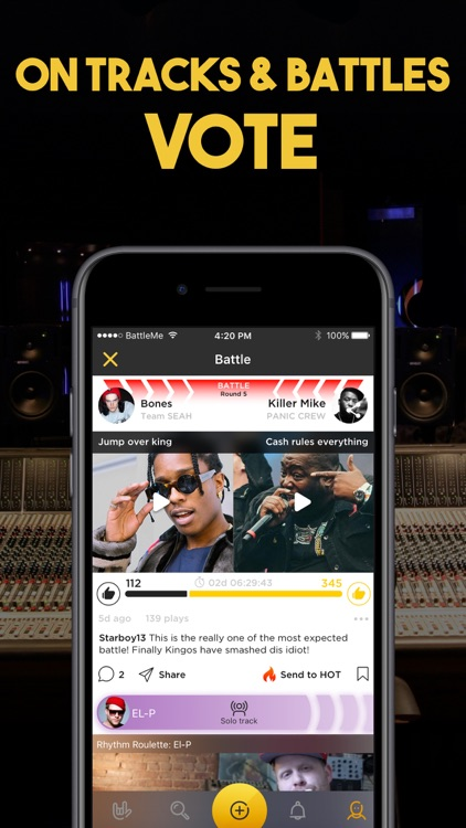 RapFame - Rap Recording Studio screenshot-5