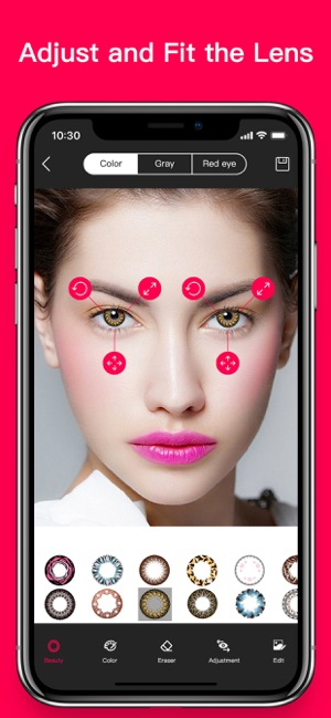 How to do nice eyes makeup with only on snapchat iphone