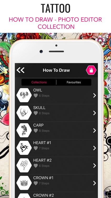 Tattoo : How to Draw & Editor