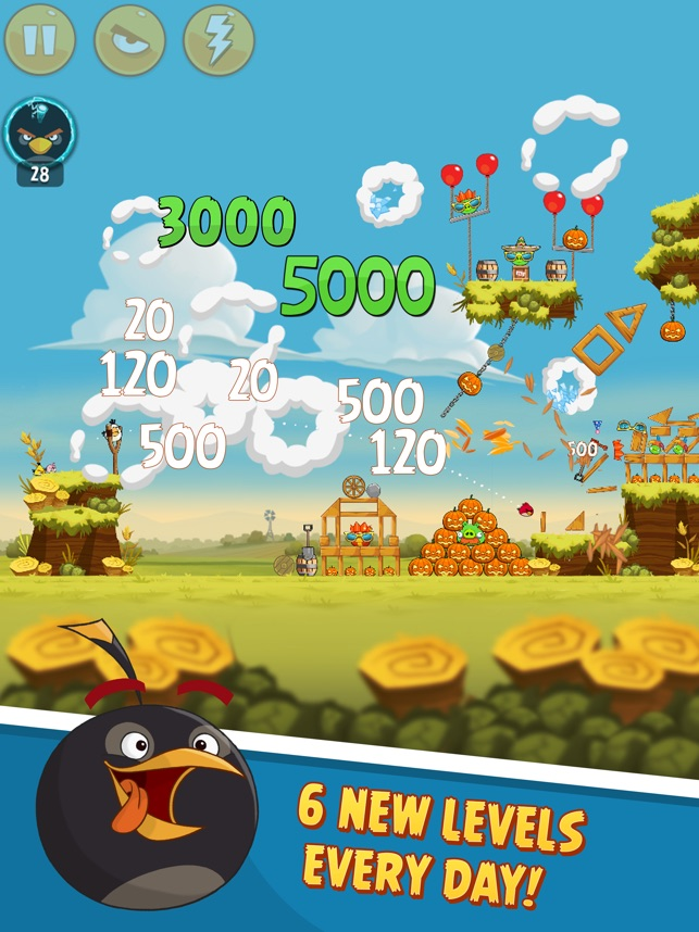 Angry Birds Classic HD Screenshot