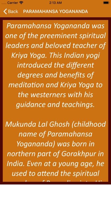 Paramahansa Yogananda Wisdom screenshot-3