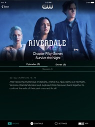 The CW ipad images