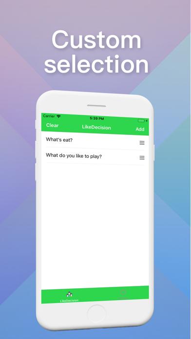 LikeDecision screenshot 1