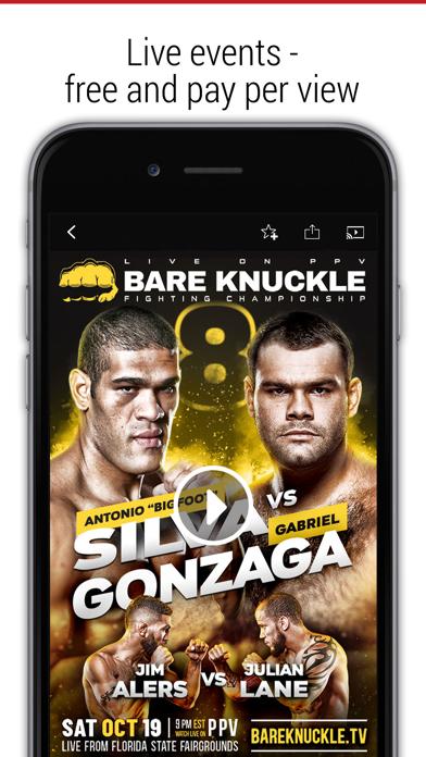 FITE - Boxing, Wrestling, MMA Screenshot