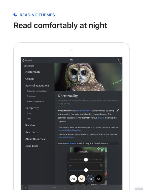 Wikipedia iPad