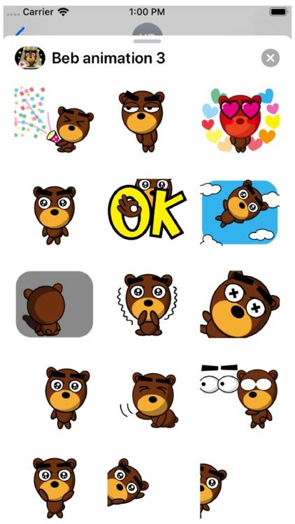 Beb Animation 3 Stickers