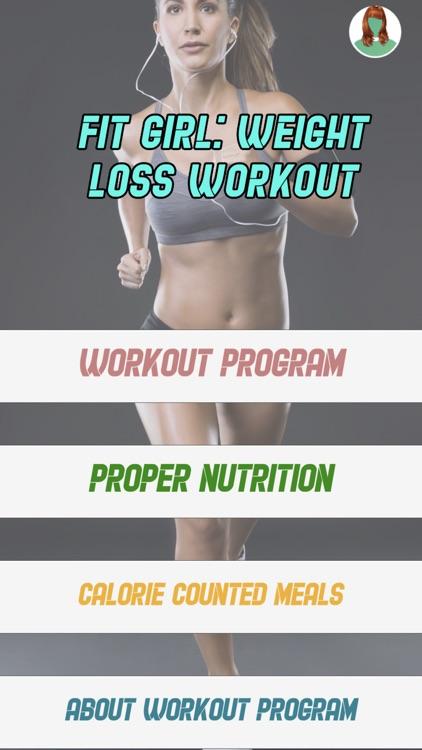 Fit Girl: Weight Loss Workout screenshot-3