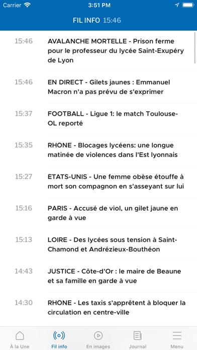 Le Progrès screenshot three