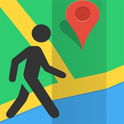 步行导航-徒步路线规划和语音导航