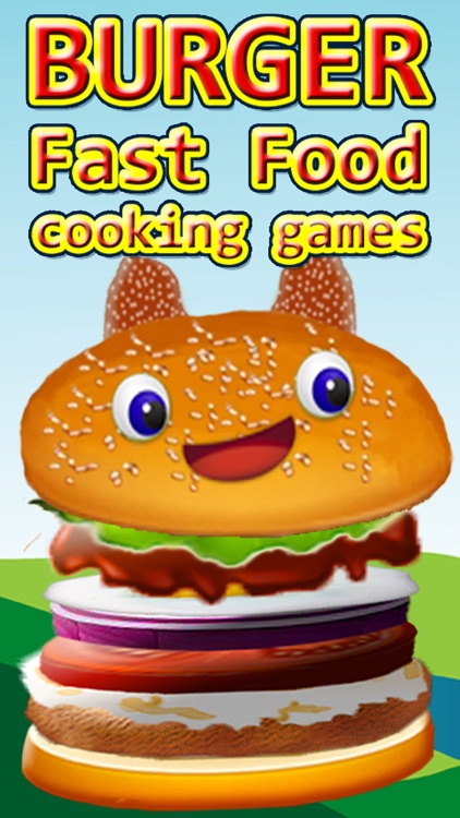 Burger fast food cooking games
