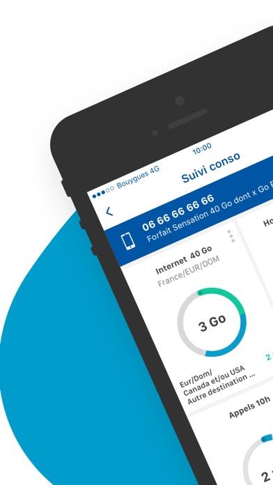 Screenshot #1 pour Espace Client Bouygues Telecom
