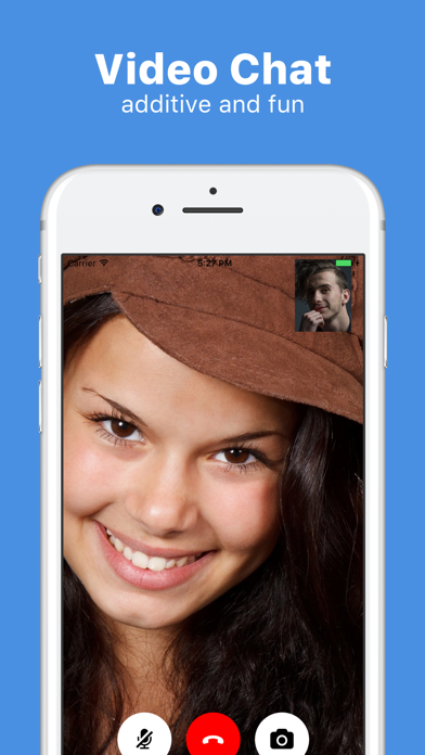 Chat for Strangers, Video Chat Screenshot