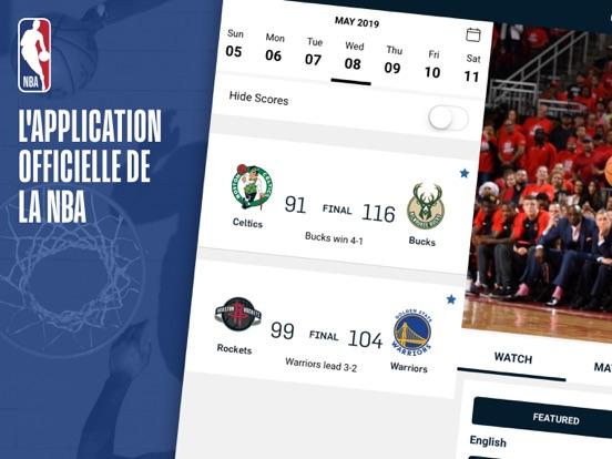 Screenshot #4 pour NBA App Officielle