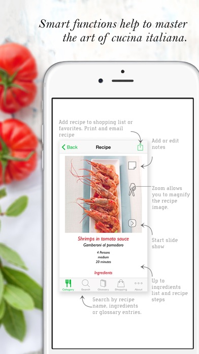 Screenshot for Italian Cooking HQ in Portugal App Store