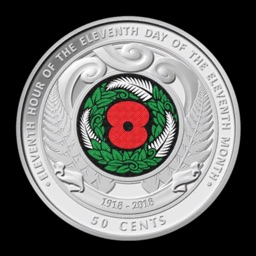 RBNZ Armistice Day Coin