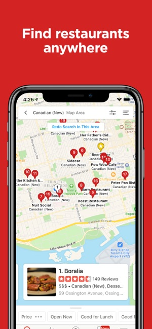 Yelp Local Food Services On The App Store