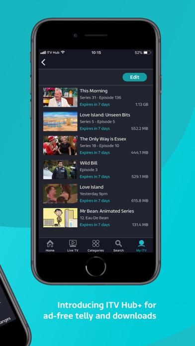 ITV Hub screenshot four